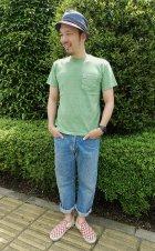 他の写真3: GOOD ON/グッドオン USA S/S ポケットTシャツ(ピグメントダイ) 6色