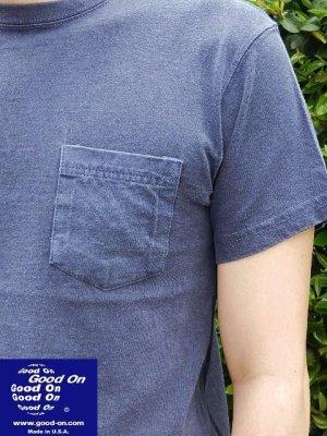 画像2: GOOD ON/グッドオン USA S/S ポケットTシャツ(ピグメントダイ) 6色
