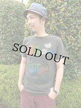 TELOVIN/テロビン ◆MUSIC LOVE◆クルーTシャツ