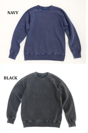 画像3: GOOD ON/グッドオン USA ラグラン CREW SWEAT(Pigment Dye )7色