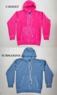 画像2: GOOD ON/グッドオン USA ラグラン ZIP HOOD SWEAT(Pigment Dye) 6色 (2)