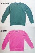 画像5: GOOD ON/グッドオン USA ラグラン CREW SWEAT(Pigment Dye )7色 (5)