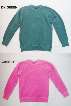 画像5: GOOD ON/グッドオン USA ラグラン CREW SWEAT(Pigment Dye )7色