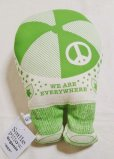 "画像2: Smile Pillow Organic ""HEY""きみどり (2)"