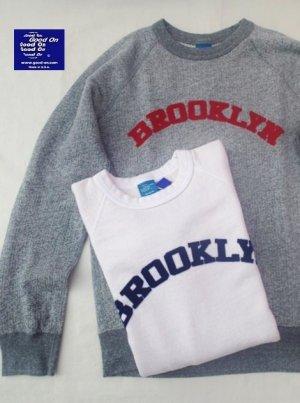 """画像1: ★30%OFF!!★GOOD ON/グッドオン """"BROOKLYN"""" L/S SWEAT(フロッキープリント)2色"""