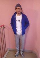 他の写真2: GOOD ON/グッドオン NARROW SWEAT PANTS 2色