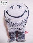 """画像1: Smile Pillow×デトアーライフ """"HEY"""" ブラック×オレンジ (1)"""