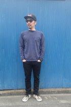 他の写真3: GOOD ON/グッドオン USA  ロングスリーブ ポケット クルーTEE(Pigment Dye) 4色