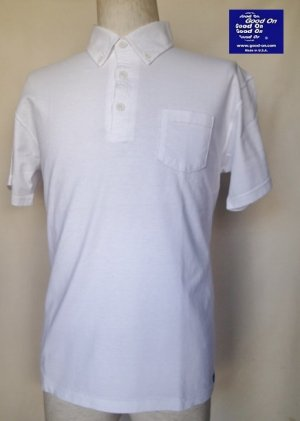 画像1: GOOD ON/グッドオン USA S/S ポロTシャツ 4色