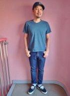 他の写真3: GOOD ON/グッドオン USA V-Neck Tシャツ(Pigment Dye) 6色