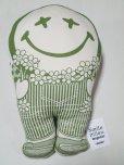 """画像3: Smile Pillow/スマイルピロー Organic """"NOW"""" Mサイズ オリーブ"""