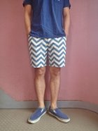 "他の写真2: ★50%OFF★ SUNLIGHT BELIEVER/サンライトビリーバー U.S.A CANVAS SHORTS ""ZIGZAG"""