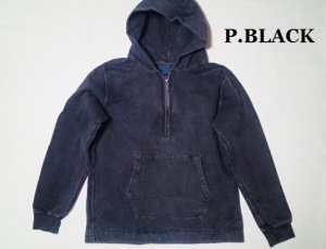 画像2: GOOD ON/グッドオン ROUGH 1/2 ZIP P/O HOOD SWEAT (Pigment Dye)3色