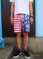 他の写真2: ★40%OFF★ GOOD ON/グッドオン USA FLAG PRINT SWEAT SHORTS
