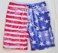 画像2: ★40%OFF★ GOOD ON/グッドオン USA FLAG PRINT SWEAT SHORTS (2)