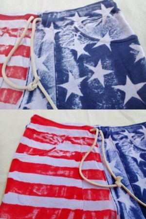 画像4: ★40%OFF★ GOOD ON/グッドオン USA FLAG PRINT SWEAT SHORTS