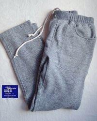 ヘビースウェットパンツ HVY SWEAT PANTS(METAL GREY)