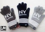 Landmark/ランドマーク リストバンド付き手袋 New York(ジャガード)