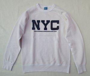 """画像3: ★30%OFF!!★GOOD ON/グッドオン """"NYC"""" L/S  SWEAT(フロッキープリント) 2色"""