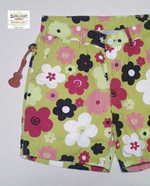 画像1: ★30%OFF★SUNLIGHT BELIEVER/サンライトビリーバー MULTI  FLOWER IVY SHORTS