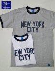 """画像1: GOOD ON/グッドオン USA  S/S RINGER TEE """"NEW YORK CITY""""2色 (1)"""