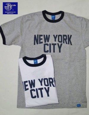 """画像1: GOOD ON/グッドオン USA  S/S RINGER TEE """"NEW YORK CITY""""2色"""