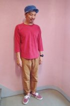 他の写真3: GOOD ON/グッドオン USA ベースボールTシャツ(ピグメントダイ)6色