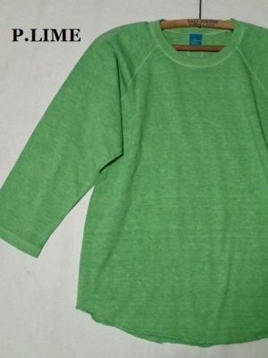 画像2: GOOD ON/グッドオン USA ベースボールTシャツ(ピグメントダイ)6色