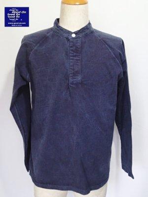 画像1: GOOD ON/グッドオン USA L/S STAND COLLAR RUGBY JERSEY(Pigment Dye)3色