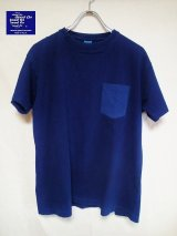 ★SPECIAL★GOOD ON/グッドオン INDIGO S/S POCKET TEE