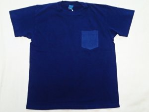 画像2: ★SPECIAL★GOOD ON/グッドオン INDIGO S/S POCKET TEE