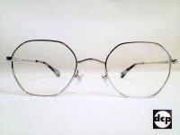 【Decomp/デコンプ】 メガネ シルバー 「M160」