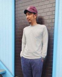 長袖ポケットクルーTシャツ L/S POCKET CREW TEE